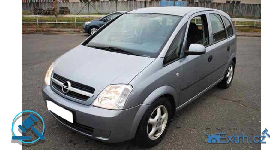 Dražby Aut - Opel Meriva 1,6 I
