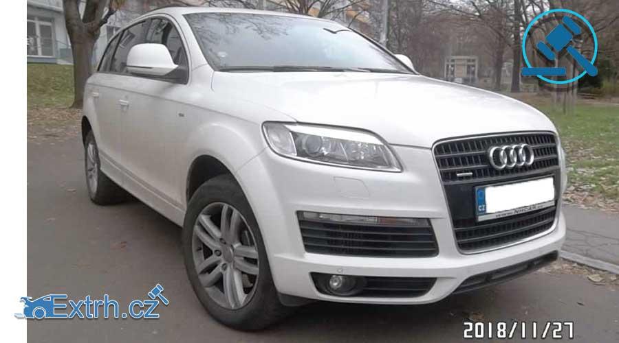 Dražby Aut - AUDI Q7 176 kW