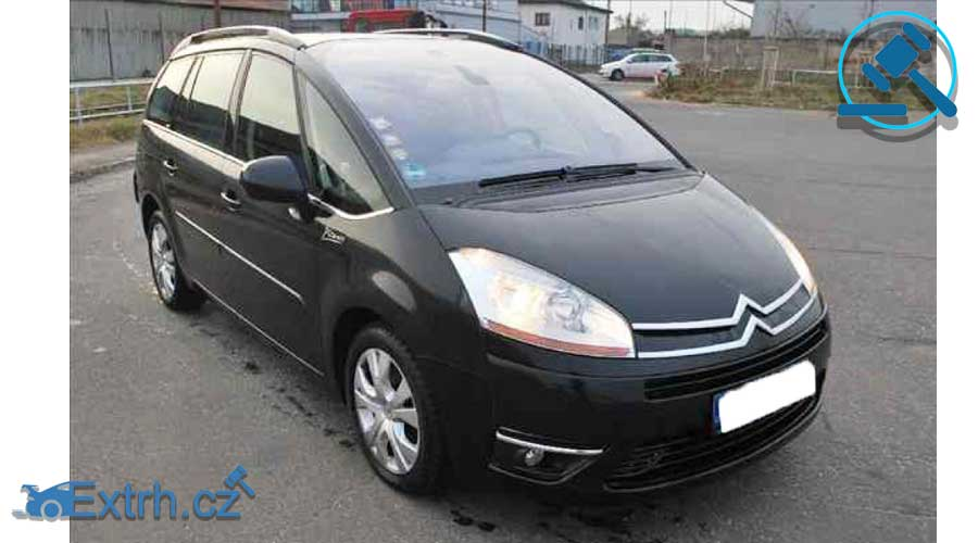 Dražby Aut - Citroën C4 PICASSO 2,0 HDI AT EXCLUSIVE