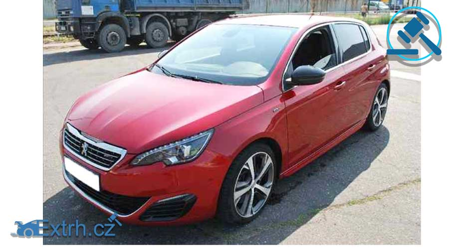 Dražby Aut - Peugeot 308 GT 2,0 HDI