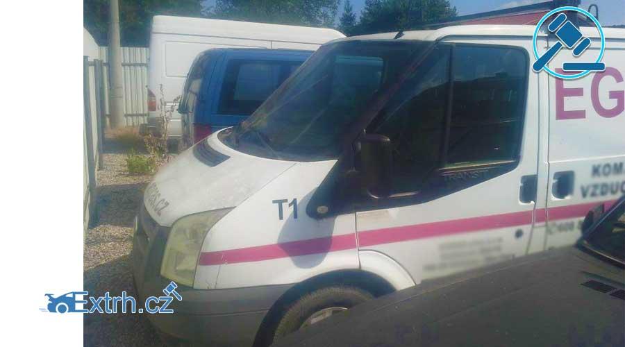 Dražby Automobilů - Ford Transit 260S, 63kW