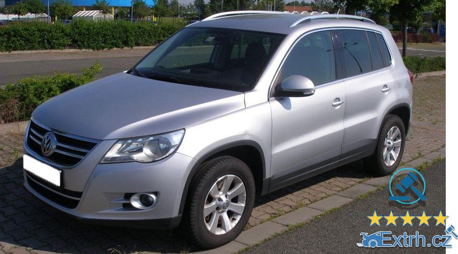Dražby Automobilů - Volkswagen Tiguan 2.0TDI, r. v. 2010