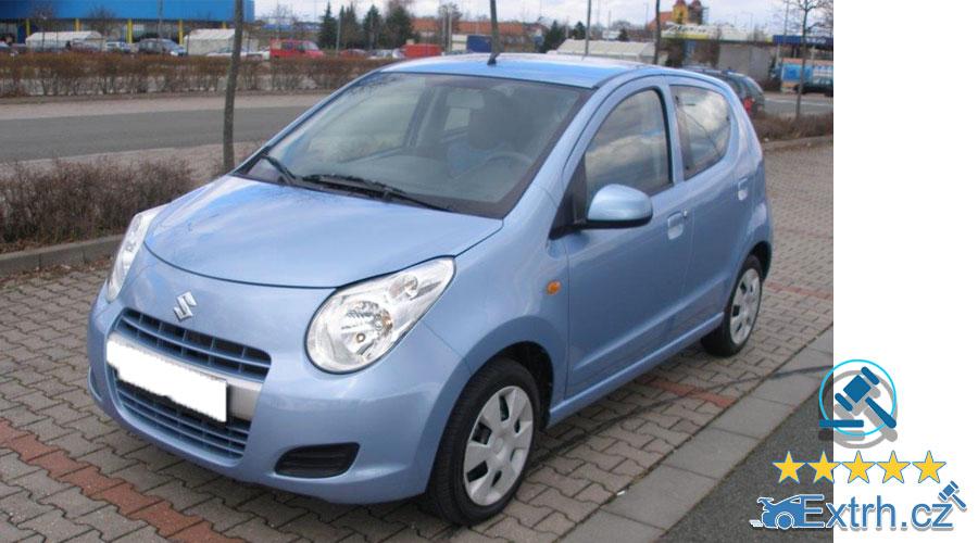 Dražby Automobilů - Suzuki Alto r. v. 2012