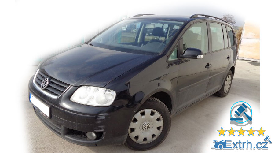 Dražby Automobilů - Volkswagen Touran
