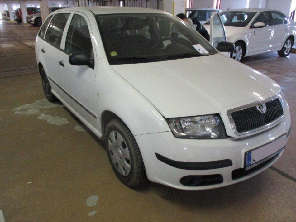 Auta z Insolvence / od Státu - ŠKODA Fabia 1,2 hatchback