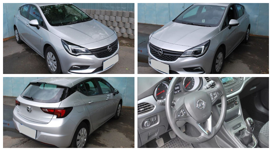 Dražby Automobilů - Opel Astra 1.4 Fleet Selection