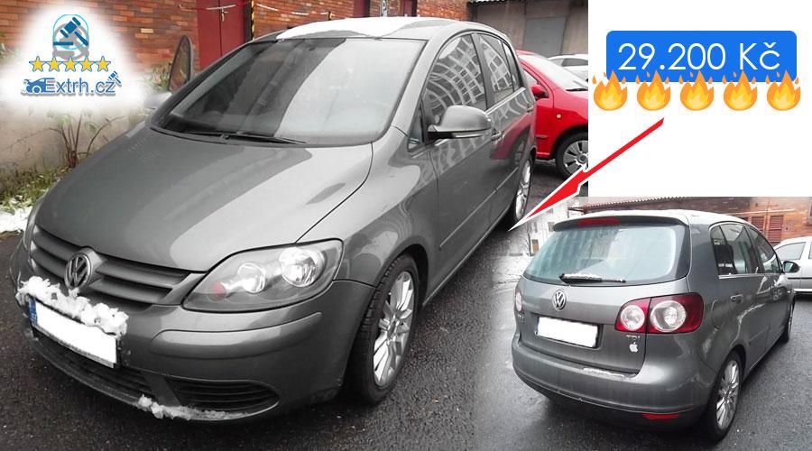 Dražby Automobilů - Volkswagen Golf Plus
