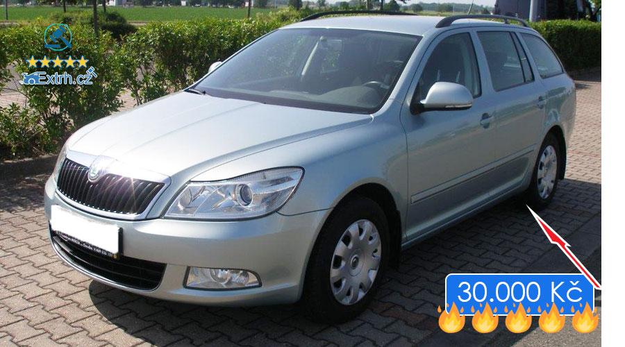 Dražby Automobilů - Škoda Octavia Combi 1.6MPI