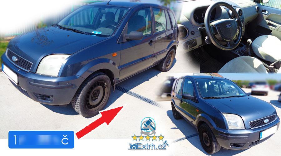Dražby Automobilů - Ford Fusion