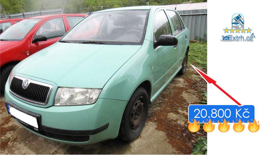Dražby Automobilů - Škoda Fabia 1.4i