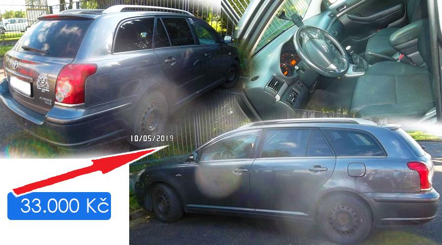 Dražby Automobilů - TOYOTA AVENSIS Premium Active