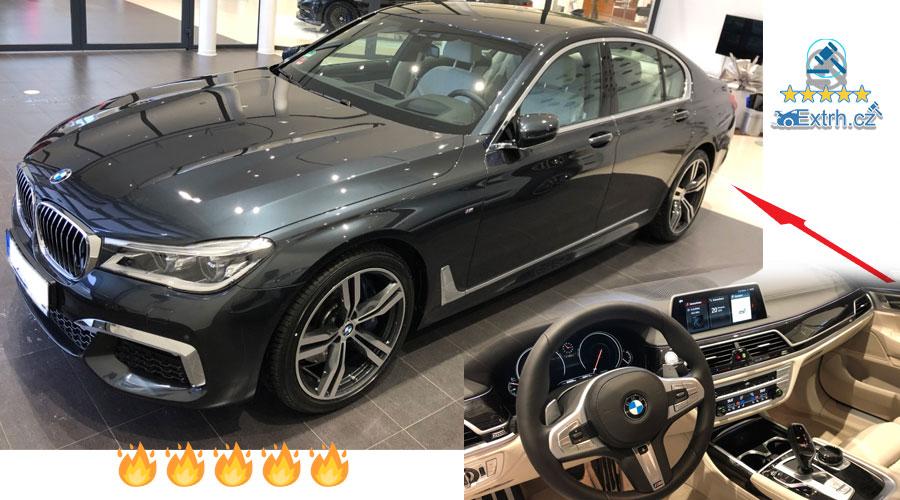 Dražby Automobilů - BMW 740d xDRIVE