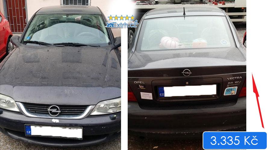 Dražby Automobilů - Opel Vectra 2.0