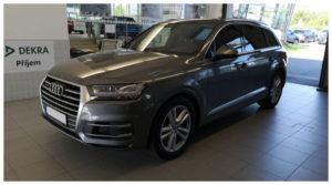 Do 17.9.19 Aukce automobilu Audi Q7 3.0 TDI Quattro, Vyvolávací cena Kč. ID nabídky 643708