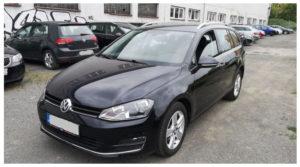 Do 17.9.19 Aukce automobilu VWGolf VII Variant 2.0 TDI, Vyvolávací cena Kč. ID nabídky 643772