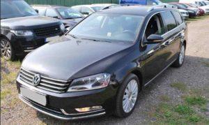 Do 16.9.19 Aukce automobilu VW Passat Variant 2.0 TDI, Vyvolávací cena Kč. ID nabídky 643224