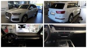 Do 17.9.19 Aukce automobilu Audi Q7 3.0 TDI Quattro, Vyvolávací cena Kč. ID nabídky 643637