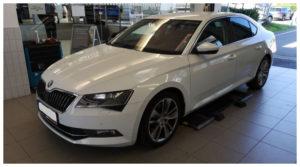 Do 17.9.19 Aukce automobilu Škoda Superb 2.0 TDI 4x4, Vyvolávací cena Kč. ID nabídky 643697